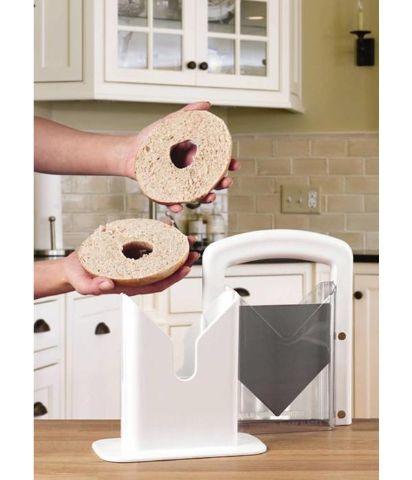 """Coupe-bagel blanc """"Guillotine"""""""