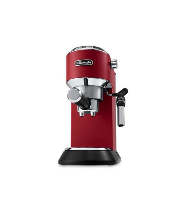 Delonghi Machine à espresso et cappuccino Dedica Deluxe Rouge de De'longhi