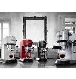 Delonghi De'Longhi Dedica Deluxe Manual Espresso  & Cappuccino Maker Red