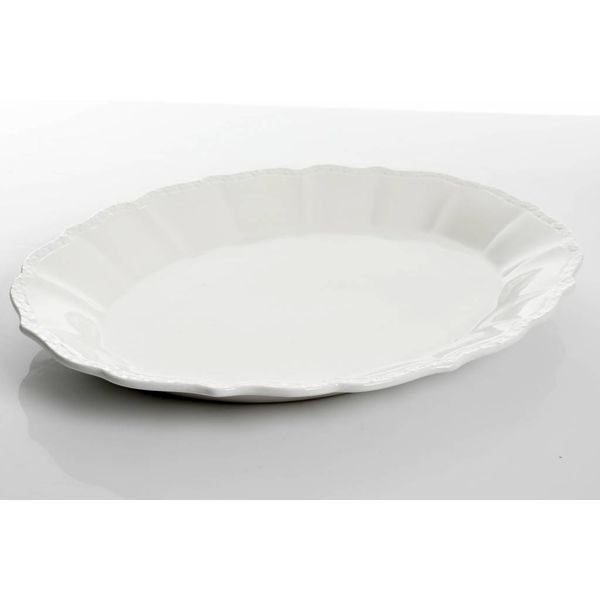 Gibson Home Cafe Posh Oval Serving Platter