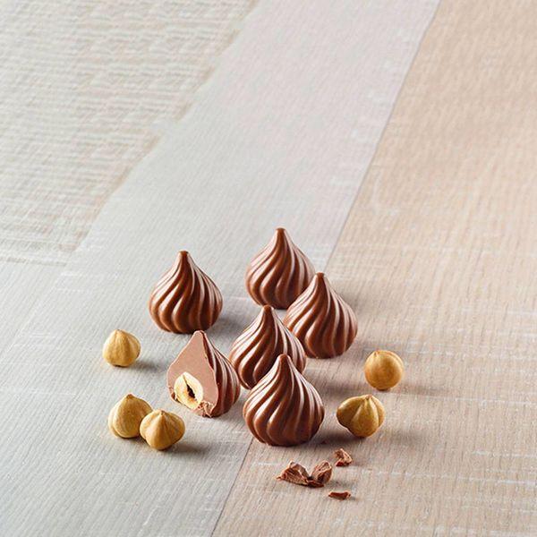 Moule à Chocolat 3D Silicone Choco Flame par Silikomart