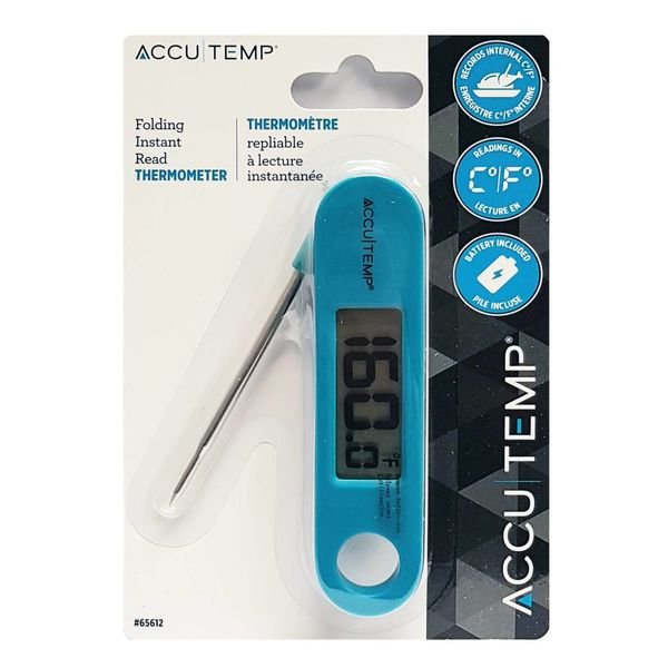 AccuTemp Folding Instant Read Thermometer