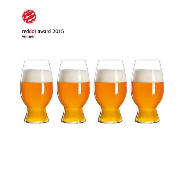 Ensemble de 4 verres à  bière de blé par Spiegelau