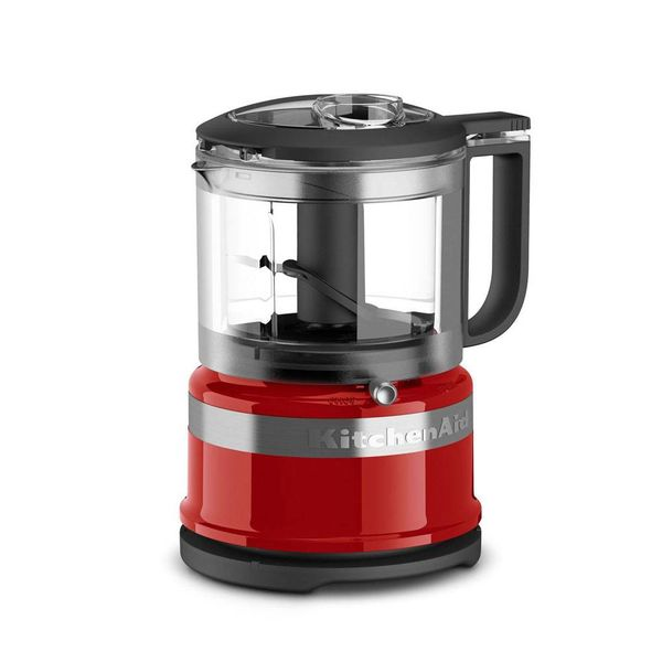 KitchenAid 3.5 Cup Mini Food Processor,Red