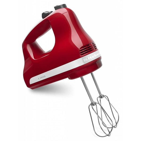 Mélangeur à main 5 vitesses rouge par KitchenAid