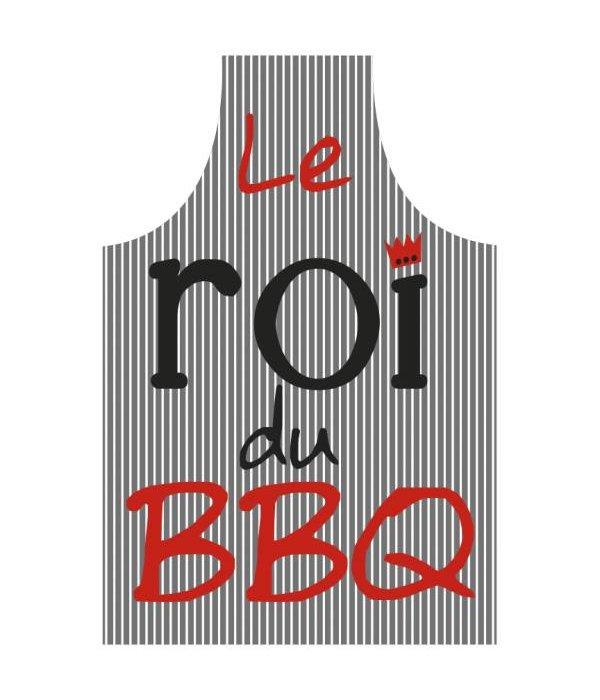 """A&A Tablier """"Le roi du BBQ"""" - Gris par A&A"""