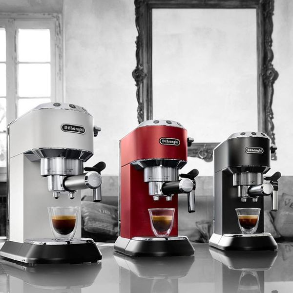 De'Longhi Dedica Deluxe Manual Espresso  & Cappuccino Maker Red