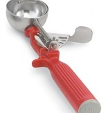 Vollrath One-Piece Thumb Dishers Red #24