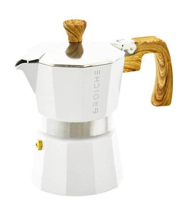 "Grosche Cafetière à espresso ""Milano""  9 tasses blanc de Grosche"