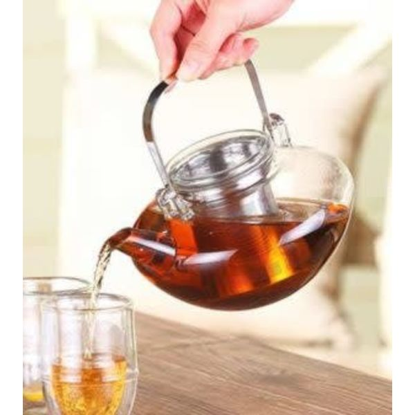 "Grosche ""Tuscany"" Glass Tea Pot with Infuser"