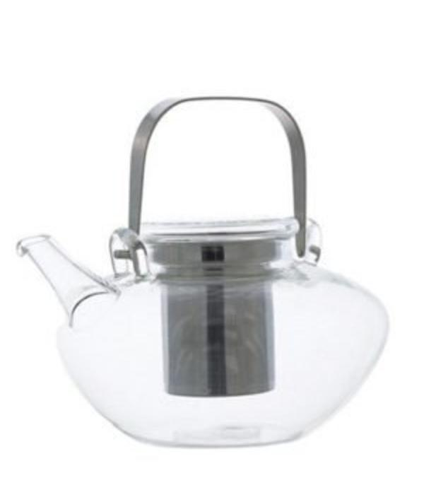 """Grosche Grosche """"Tuscany"""" Glass Tea Pot with Infuser"""