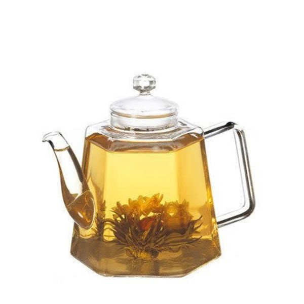 "Grosche ""Vienna"" Glass Tea Pot with Strainer"