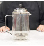 """Grosche Grosche """"Stanford"""" Double Walled Glass French Press"""