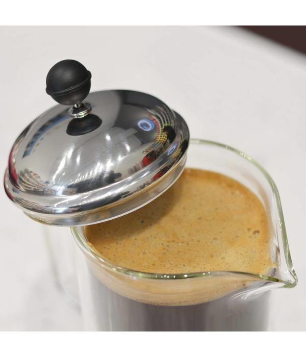 """Grosche Cafetière à piston """"Stanford""""  en verre à double paroi de Grosche"""
