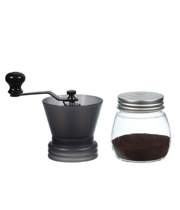 """Grosche Grosche """"Bremen"""" Manual Coffee Grinder Red"""