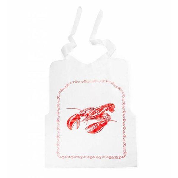 Ensemble de 4 bavettes à homard en plastique de Fox Run