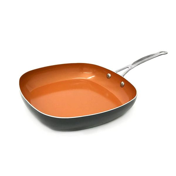 Gotham Steel Copper 24 cm  Square Fry Pan