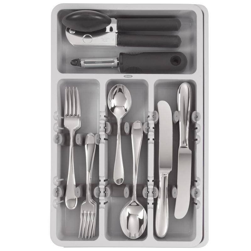 Oxo Organisateur D Ustensiles Gris D Ares Kitchen And Baking
