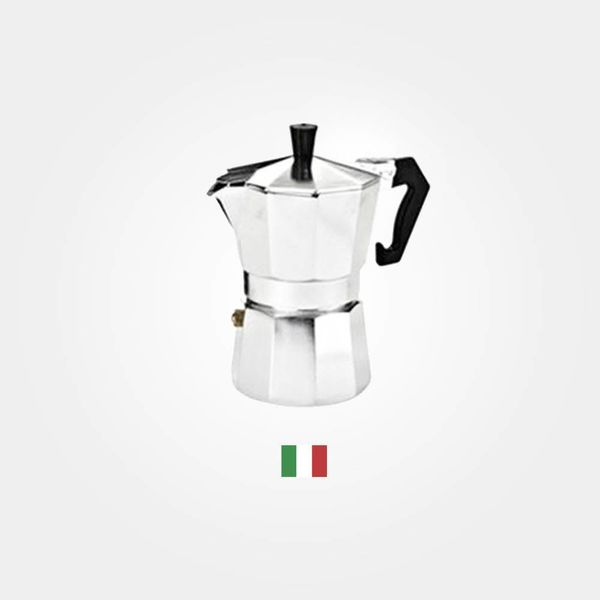 Italian Traditional  Espresso Maker 3 Cup