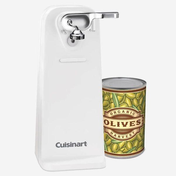 Ouvre-boîtes de luxe blanc de Cuisinart