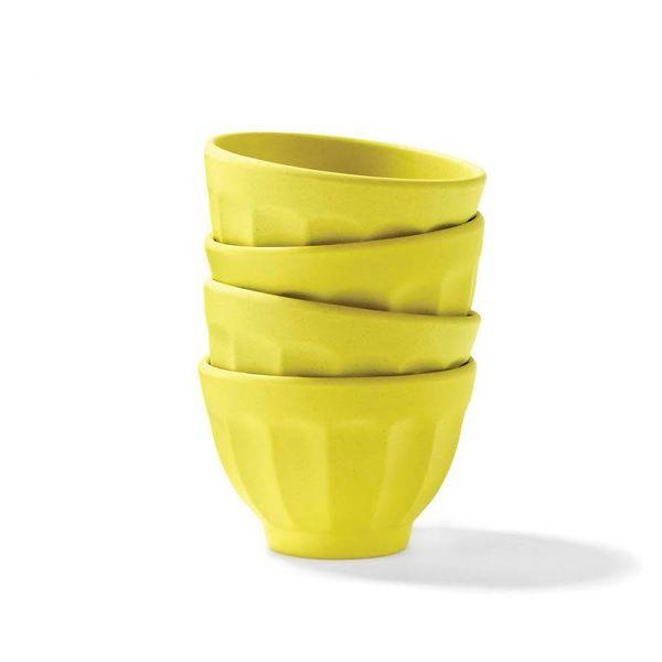 Ricardo Lemon Yellow Dessert Bowls