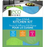 Trousse de nettoyage et de polissage pour la cuisine de Eco Home