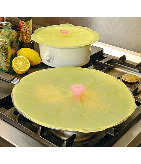 "Couvercle ""Lily Pad""  en silicone de Charles Viancin 33 cm"