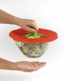 """Couvercle """"tomate""""  en silicone de Charles Viancin 23 cm"""
