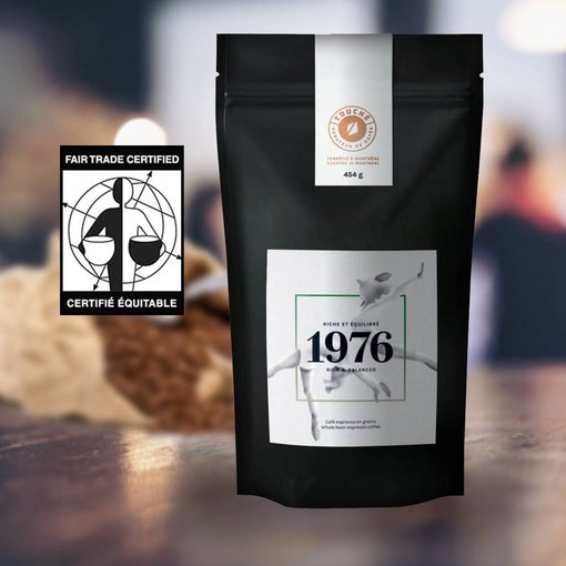 Jura Organic-fair trade coffee beans TOUCHÉ! - rich mixture 454 gr
