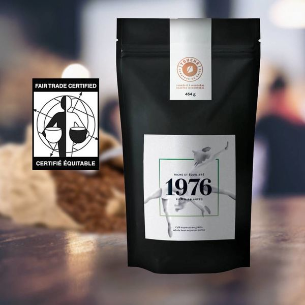 Organic-fair trade coffee beans TOUCHÉ! - rich mixture 454 gr