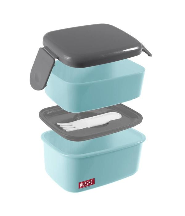 Russbe Snack Bento Box with 2 Compartments