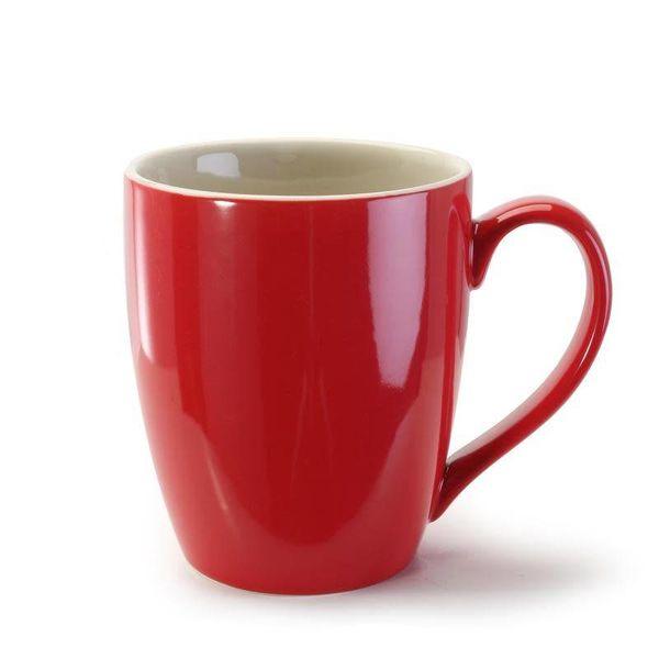 B.I.A.  Red Coffee Mug 15oz