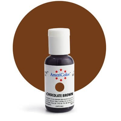 Americolor/Spectrum Chocolate Brown Gel Food Colouring ...