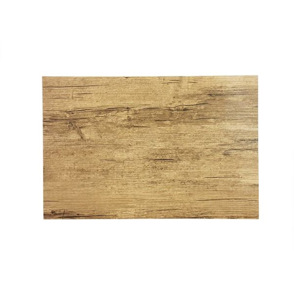 "Rustic Style Placemat ""Light Wood"""