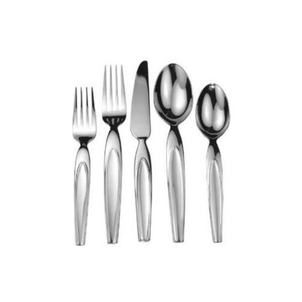 20pc Flatware Set 18/10 Stainless Steel by Splendide