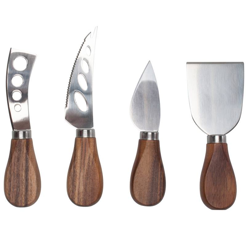 Natural Living Cheese Knives Set Kitchen Supplies And Accessories