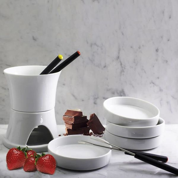 BIA 10PC Chocolate Fondue Set