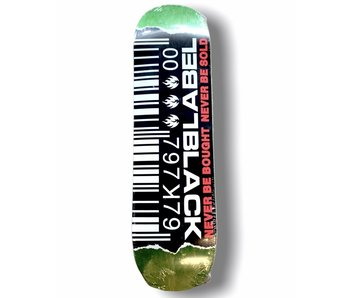 Black Label Ripped Barcode Deck