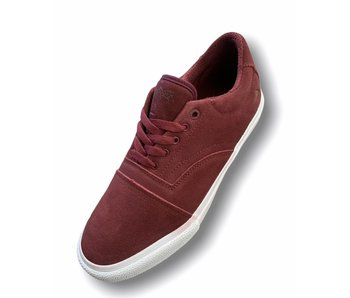 Emerica The Provider Shoe Burgundy/White
