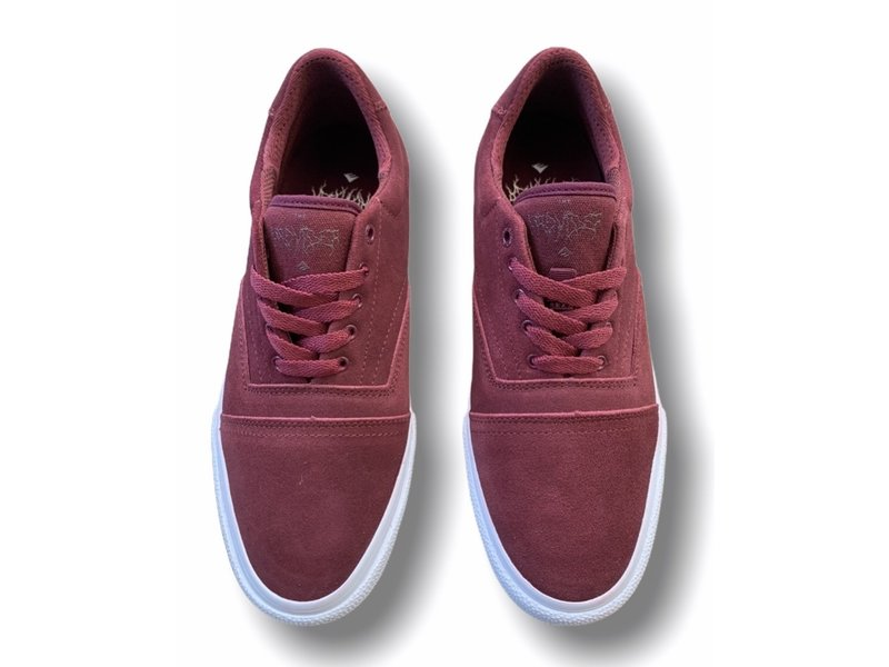 Emerica Emerica The Provider Shoe Burgundy/White