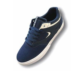 DC Kalis Vulc Navy/White Shoe