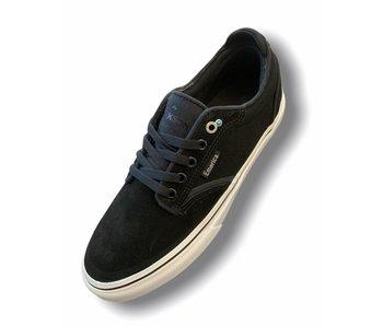Emerica Dickson Blk/Wht/Gold Shoe