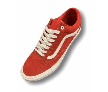 Vans Old Skool Pro Suede Red/White Shoe