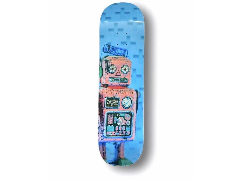 Rhythm Skateshop Rhythm Robot Blue Deck