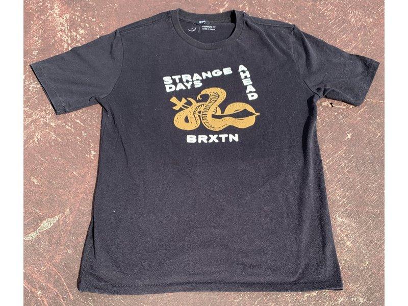 Brixton Brixton Strange Days Washed Black S/S Tee