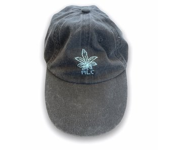 A Lost Cause Pot Head Cap Washed Black Dad Hat