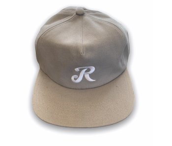 Royal Truck Co. Initial Grey/White Unstructured Snapback Hat