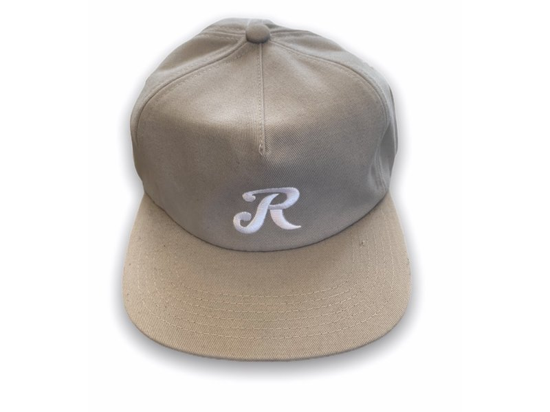 Royal Royal Truck Co. Initial Grey/White Unstructured Snapback Hat