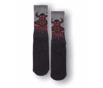 Toy Machine Hell Monster Black Socks
