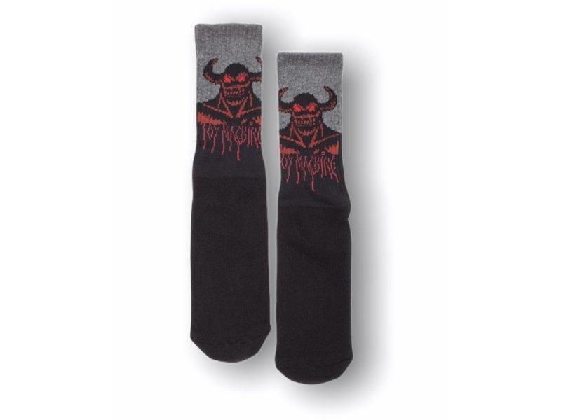 Toy Machine Toy Machine Hell Monster Black Socks
